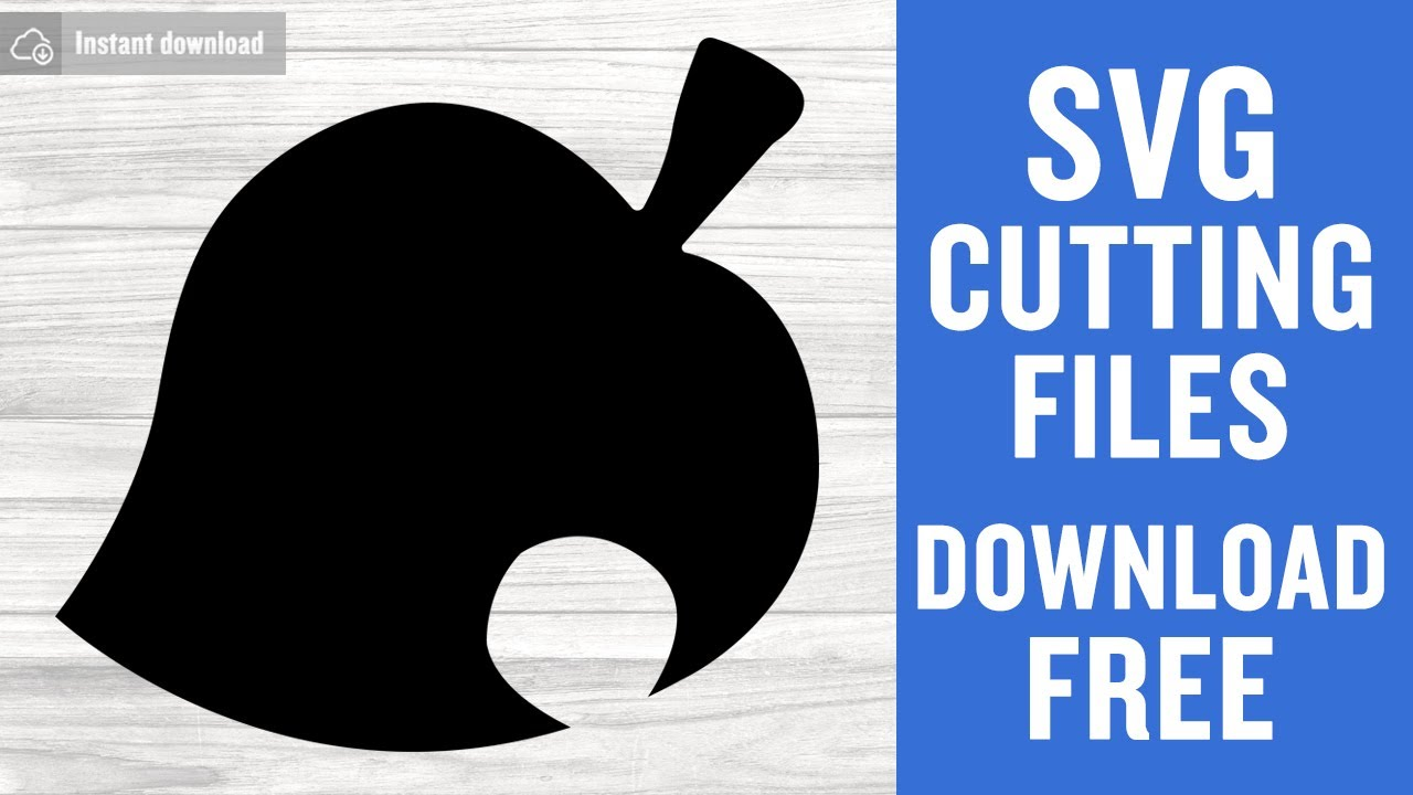 Animal Crossing Leaf Svg Free Cutting Files For Cricut Silhouette