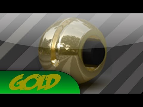 Cinema 4D Gold Material (Free Download)