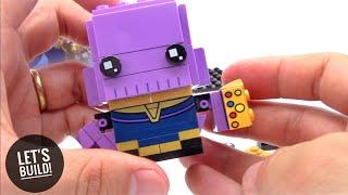 - LEGO BrickHeadz Thanos 41605 Let s Build