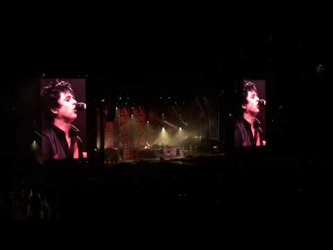 """2000 Light Years Away"" - Green Day LIVE  at the Rose Bowl, Pasadena 9/16/2017"