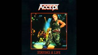 Accept   Staying A Life [live In Osaka   Full Album] (1985)
