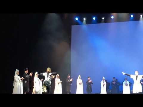 Georgian national ballet at Dubai opera, 3 jan 2020