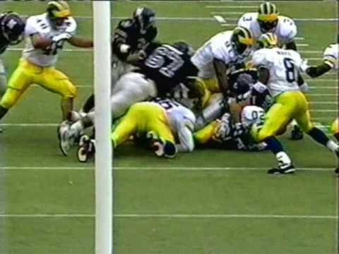 1992: Michigan 40 Northwestern 7
