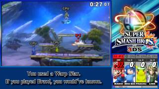 this is how you don t play smash 3ds mario edition