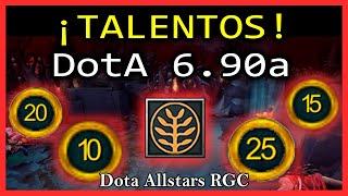Árbol de talentos Dota 1 - Nuevo Mapa 6.90a RGC