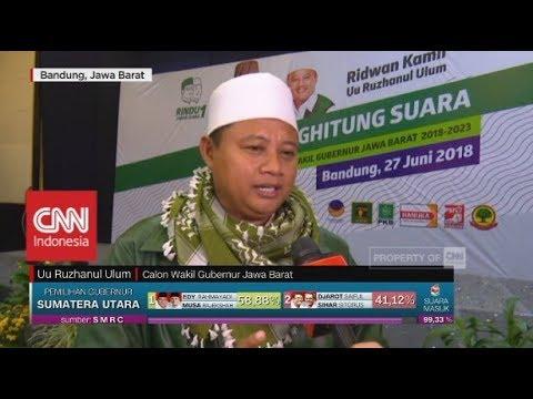 Menang di Quick Count, Ridwan Kamil – Uu Siap Dukung Jokowi di Pilpres 2019