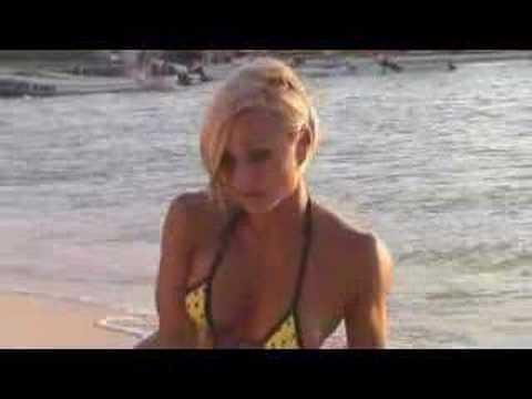Bikini Fitness Model with Bikini Usa Isle Mejure Jamie Eason