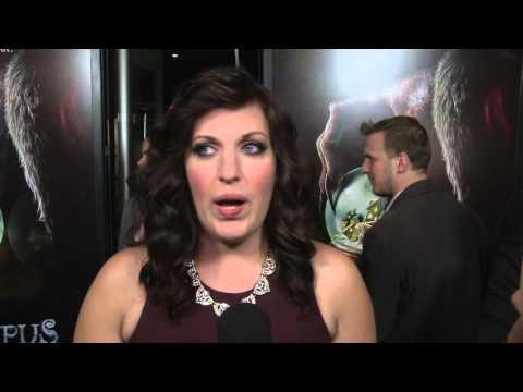 Krampus: Allison Tolman Red Carpet Movie Premiere