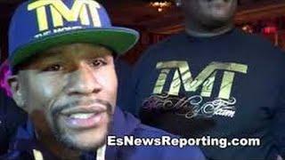 Floyd Mayweather Full Interview Post On Broner Pacquiao-Bradley 3 Gervonta Davis Mikey Garcia Kobe