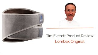 Lombax Original is reviewed by our Registered Osteopath Tim Everett.