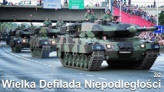 MASSIVE Military Parade in Warsaw! Part 2 - Armored Vehicles , Tanks and more!