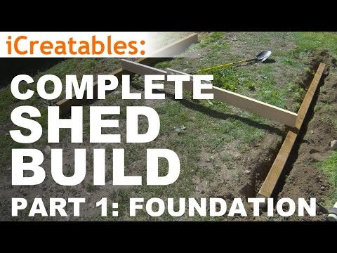how-to-build-a-shed---part-1---the-shed-foundation