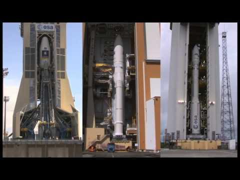 Three launchers at Europe