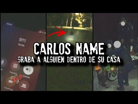 CARLOS NAME graba a alguien dentro de su casa | NUEVAS HISTORIAS INSTAGRAM