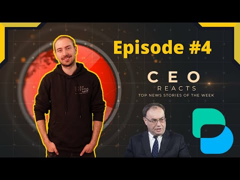 Crypto CEO REACTS To Top News Stories Of The Week – Exclusive Mining, Andrew Bailey and more!