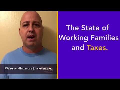 The State Of Working Families And Taxes