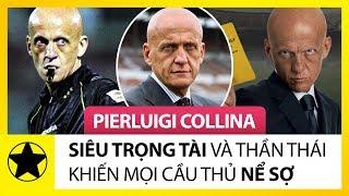 """""""Siêu Trọng Tài"""" Pierluigi Collina Và Thần Thái Khiến Mọi Cầu Thủ Phải Nể Sợ"""
