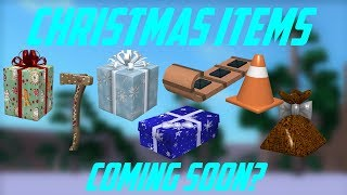 🔥CHRISTMAS ITEMS COMING SOON? NEW VEHICLE, AXE, + More? Roblox Lumber Tycoon 2