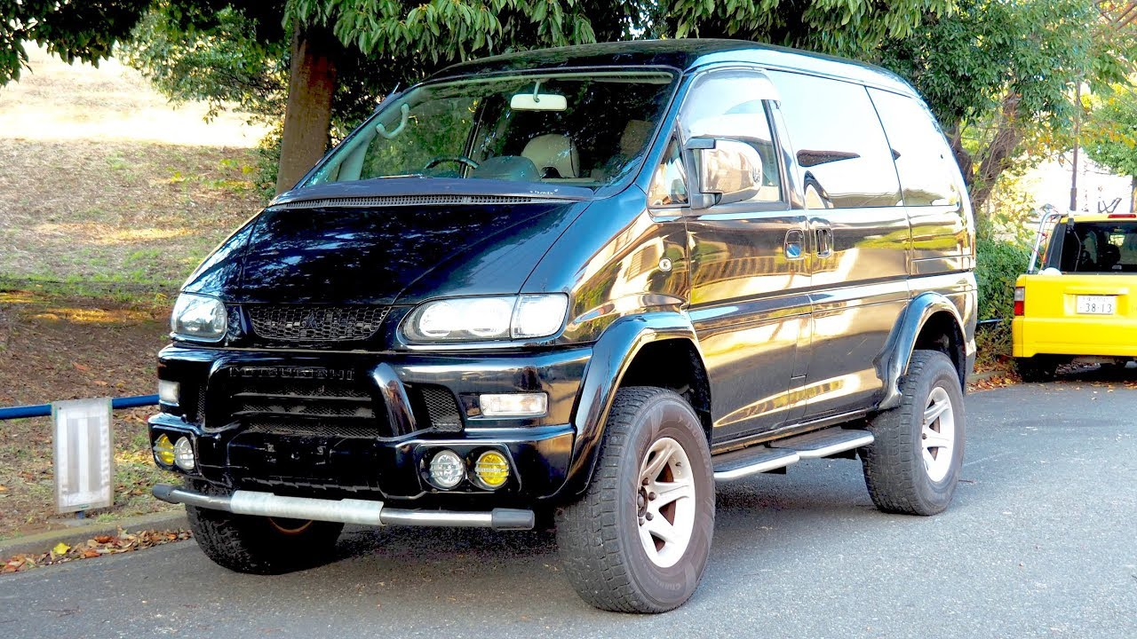 2000 mitsubishi delica space gear lifted 4x4 minivan canada import japan auction purchase. Black Bedroom Furniture Sets. Home Design Ideas
