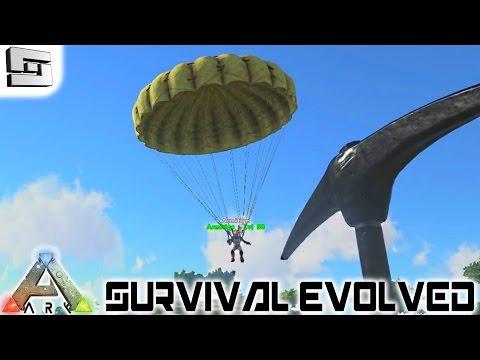 ARK: Survival Evolved - PARACHUTE! E12 ( Gameplay )
