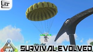 ARK: Survival Evolved - PARACHUTE! E12 ( Gameplay )