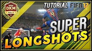 FIFA 17 & Ultimate Team: TUTORIAL SUPER LONGSHOTS! TIROS LEJANOS DE FUERA DEL AREA