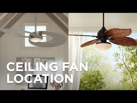 Ceiling Fan Location - Outdoor & Indoor Ceiling Fans - Lamps Plus