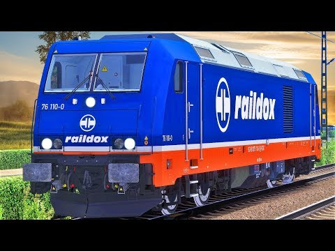 Güterzug im Nebel   Raildox TRAXX – TRAIN SIMULATOR 2019   Köln - Düsseldorf & It's cold outside