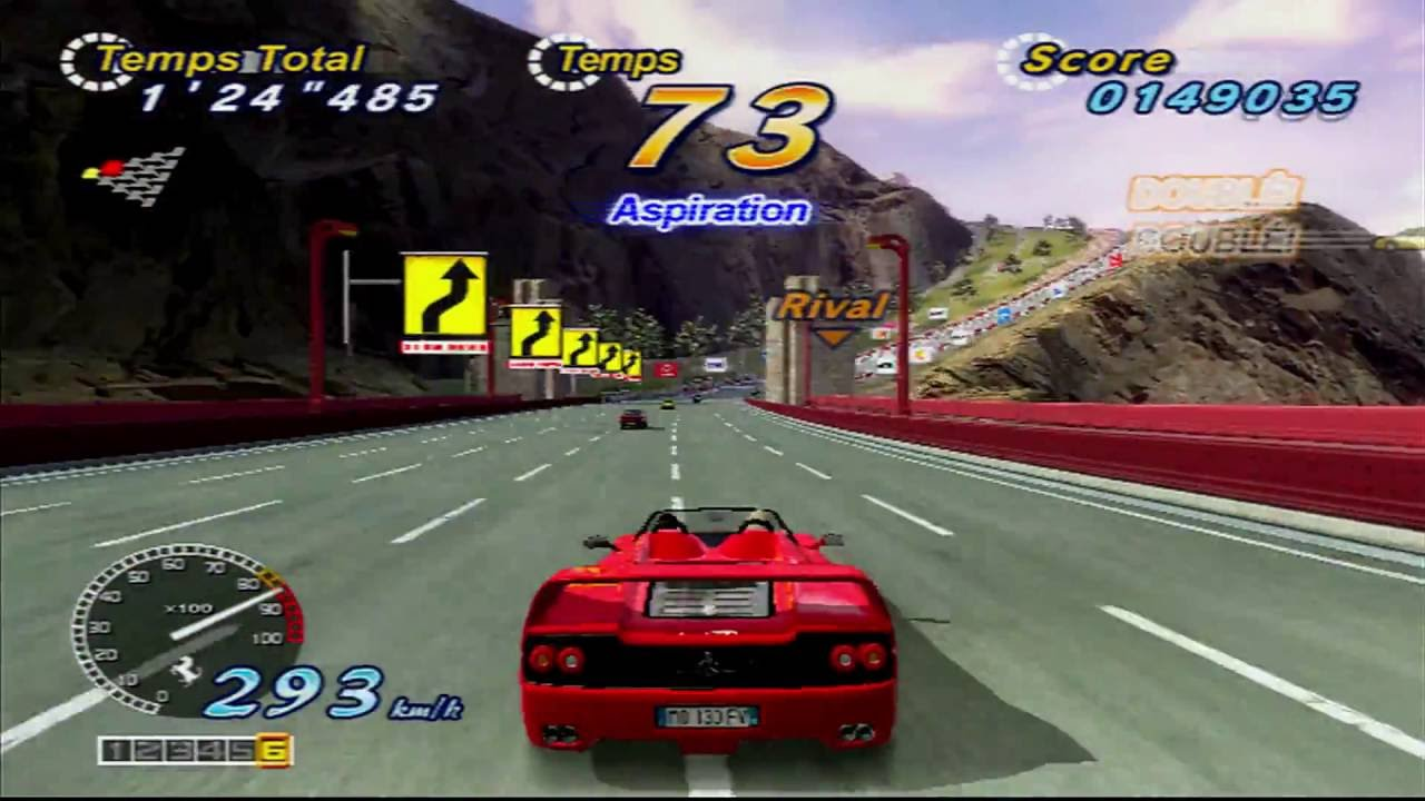 OUTRUN 2 C2C - XBOX - 480P TO 1080P - OSSC + CII by fafangus