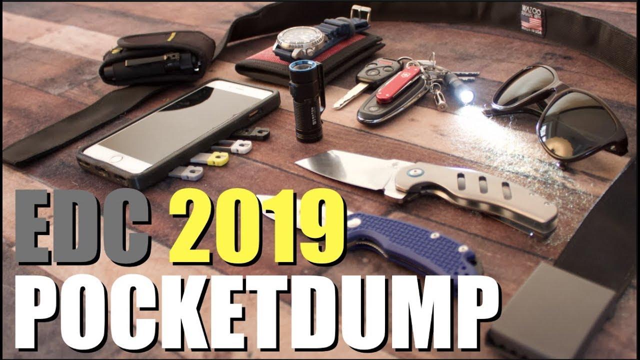 pocket dump edc 2019