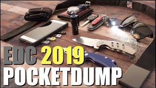 Pocket Dump EDC 2019 (My Everyday Carry Gear)