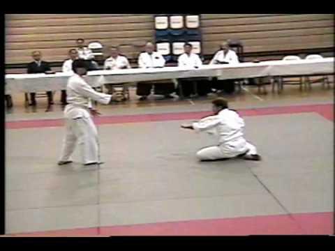 David Schroeder and Don Rose Aikido Demonstration at IVC.mpg