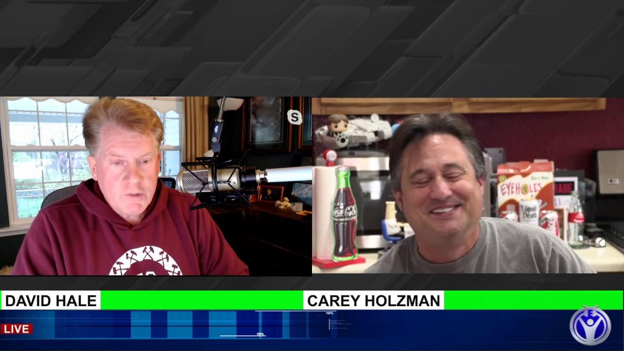 LIVE - Interview with David Hale, tech millionaire! 4