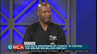 Unions threatening to shut down the country's entire aviation