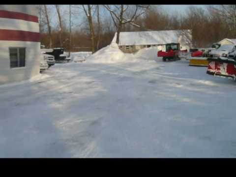 how to stop snow from blowing off the bank