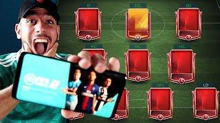 FIFA MOBILE 19  (JUEGO OFICIAL) ESTO ES INCREÍBLE !!!