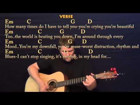 All Of Me Guitar Tutorial (John Legend) - YouTube