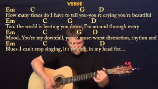 All Of Me (John Legend) Strum Guitar Cover Lesson in G with Chords / Lyrics