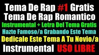 Instrumental rap romantico con letra si mañana no estoy / Rap Triste/ Historia Rap