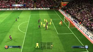FIFA 15 Gameplay Barcelona Vs Chelsea Xbox 360