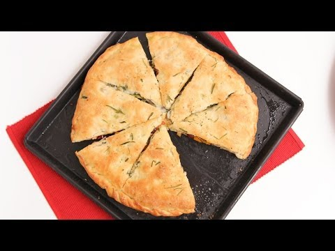 Stuffed Focaccia Bread Recipe - Laura Vitale - Laura in the Kitchen Episode 783