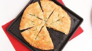 Stuffed Focaccia Bread Recipe - Laura Vitale - Laura In The Kitchen Episode 783