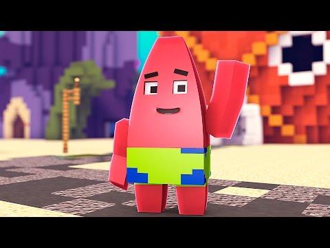 PATRICK STAR!? Minecraft Spongebob HIDE N SEEK