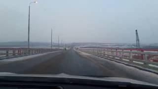 Автомобильный мост через Каму