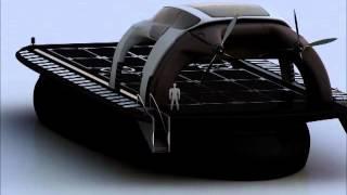 Проект грузового судна на воздушной подушке. СВП. АСВП. Hovercraft Russia. Nord Way.(Вот решили выложить видео-ролик нашего любимого проекта. Грузовое амфибийное судно на воздушной подушке..., 2015-01-26T10:58:08.000Z)