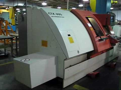 Gildemeisters CTX 600 CNC Lathe - Available to Buy Now