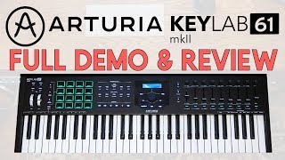 Arturia Keylab mkII [FULL DEMO & REVIEW]