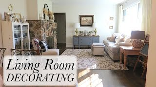 Decorating My Living Room for Cheap or FREE