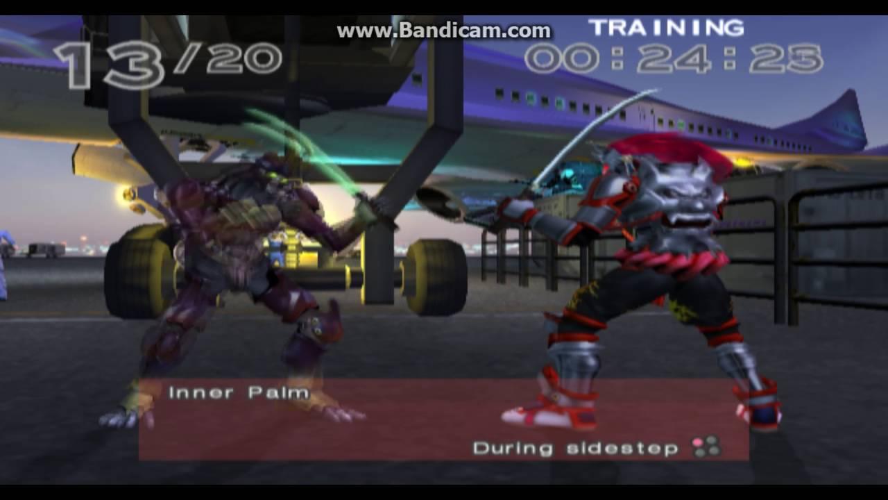 Tekken 4 Yoshimitsu Combo Challenge Youtube