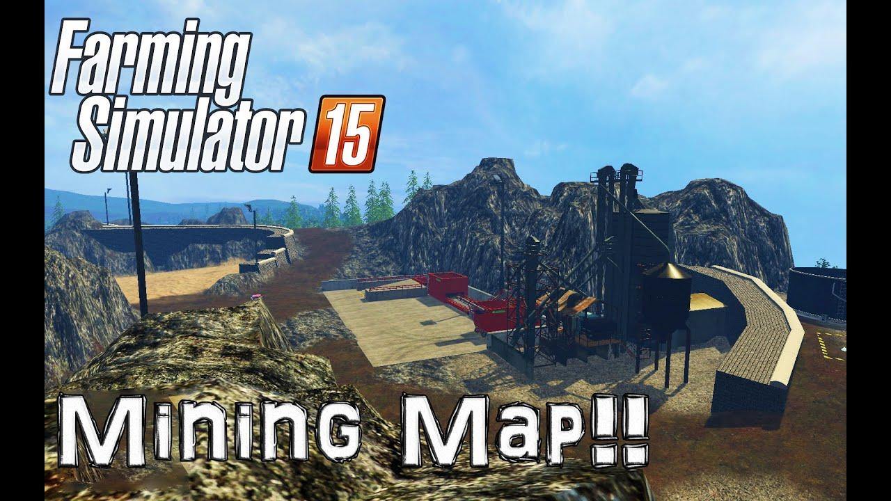 моды карту mining construction